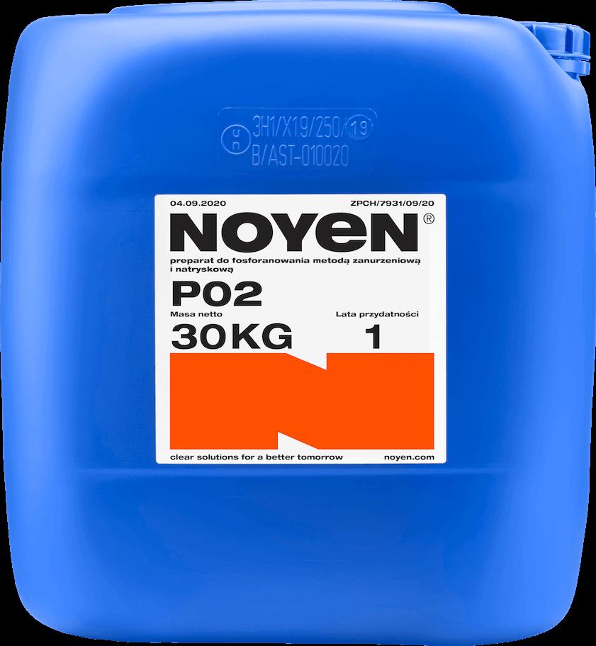 PO 2 NOYEN 30 KG preparat do fosforanowania metodą zanurzeniową i natryskową w niebieskim kanistrze