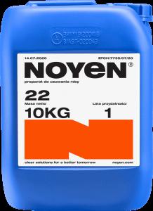 22 NOYEN 10 KG preparat do usuwania rdzy w niebieskim kanistrze
