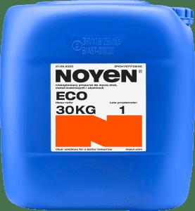 ECO NOYEN 30 KG niskopieniący preparat do mycia stali, metali kolorowych i aluminium w niebieskim kanistrze