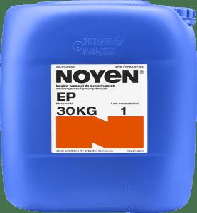 EP NOYEN 30 KG kwaśny preparat do mycia trudnych zanieczyszczeń przemysłowych w niebieskim kanistrze