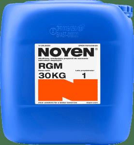 RGM NOYEN 30 KG alkaliczny, emulgujący preparat do usuwania zabrudzeń olejowych w niebieskim kanistrze