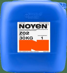 ZO2 NOYEN 30 KG wodorozcieńczalny, wysokoalkaiczny preparat do usuwania powłok lakierniczych w niebieskim kanistrze